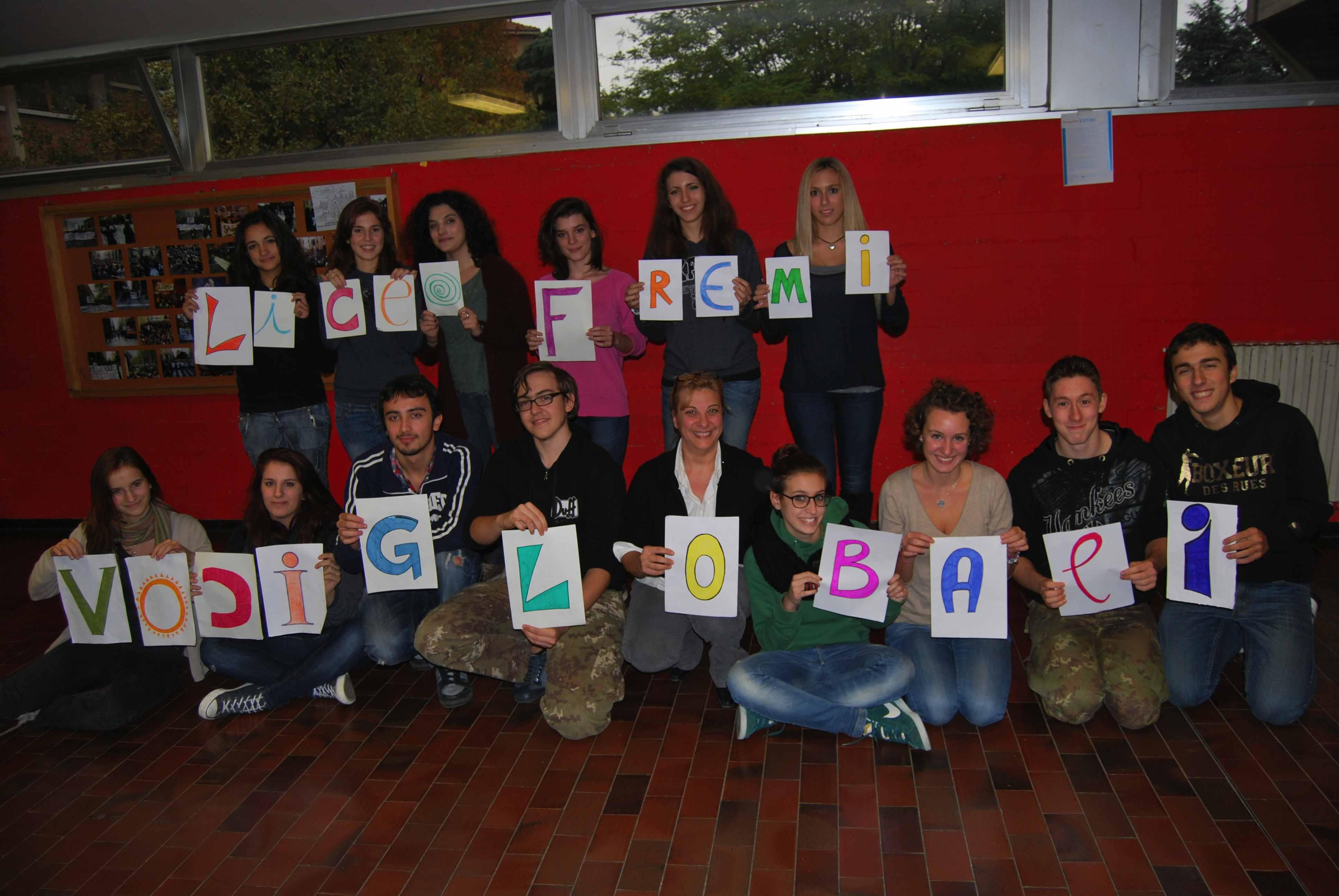 Voci Globali incontra il Liceo Fermi di Bologna, ottobre/novembre 2013